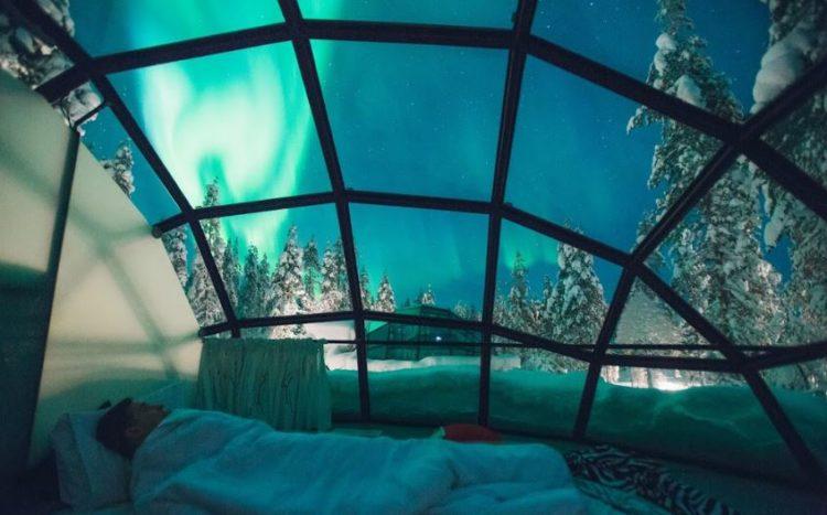 Kakslauttanen Arctic Resort, Saariselka, Finland