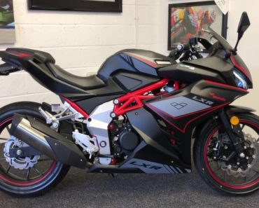 A Closer Look at the Lexmoto LXR 125