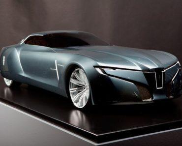 A Closer Look at Lincoln's New Sleek Concept Car