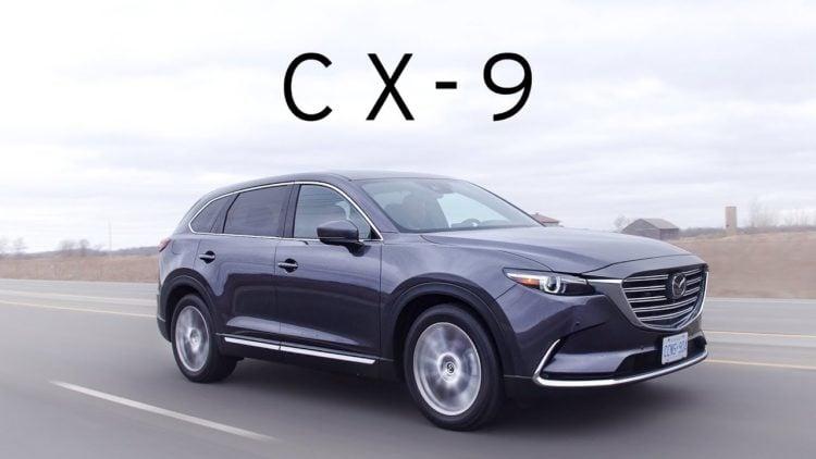 Mazda CX9 SUV 2019