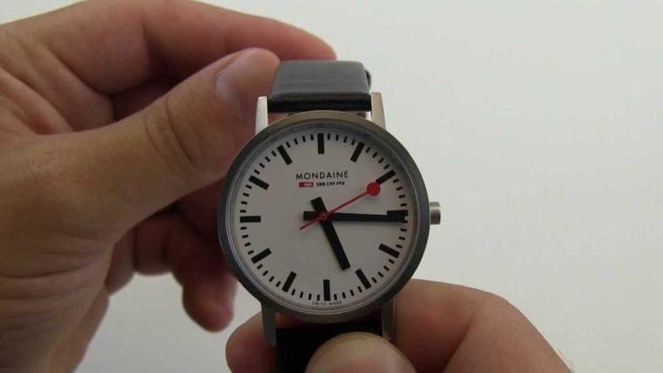 Mondaine Official Swiss Railways Evo 2 Automatic Watch