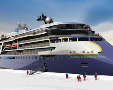Check Out National Geographic's New Expedition Cruise Ship