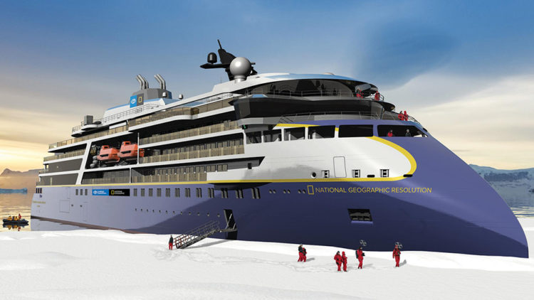 National Geographic's New Expedition Cruise Ship