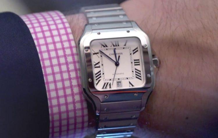 Santos De Cartier Watch, Large