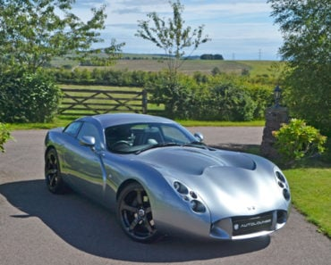 A Closer Look at the Only TVR T440R Sports Car in the World