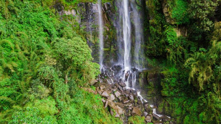 See the Waterfalls at Vereda El Carmen