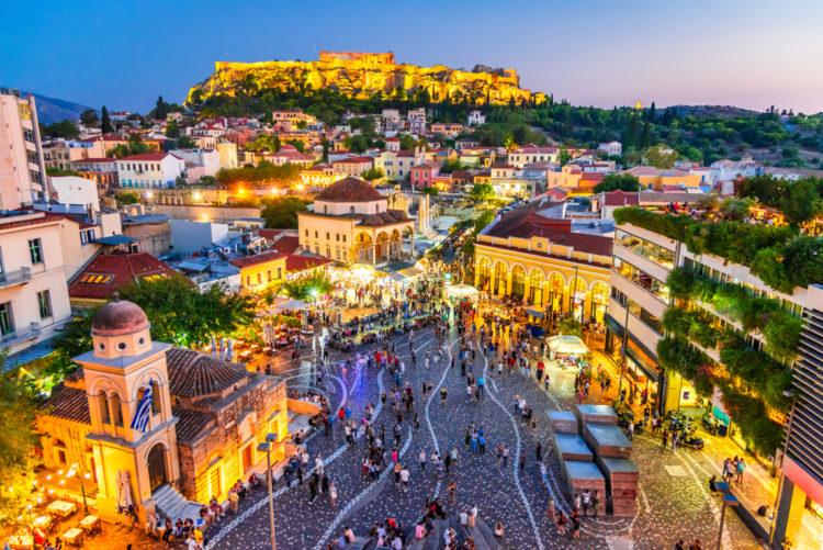 Take a day trip to Athens