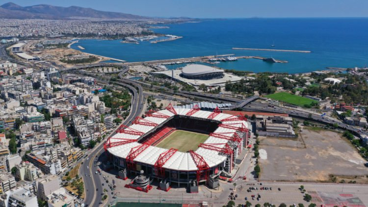 Catch a match at Karaiskakis Stadium