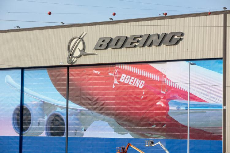 Boeing Factory Tour, Washington