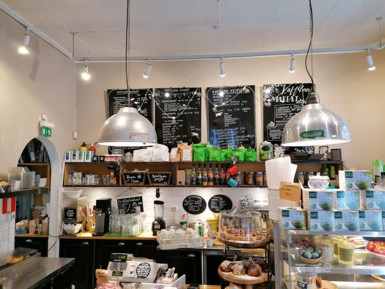 Grab a coffee at Mokka Mestarit