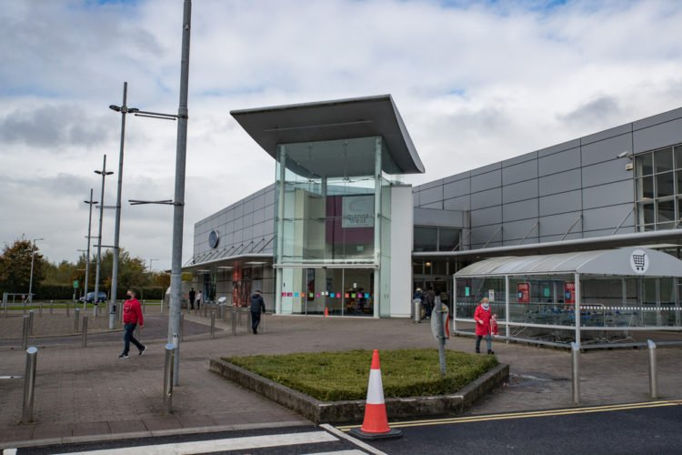 Indulge in some retail therapy at Manor West Shopping Centre