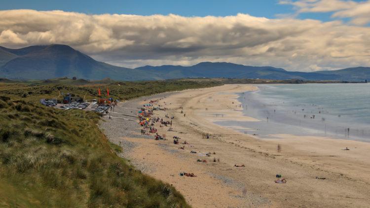 Explore the dunes at Banna Strand
