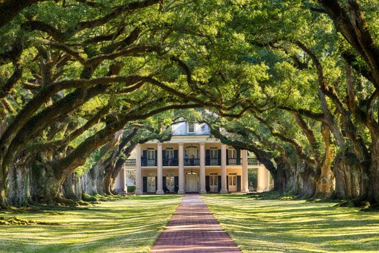 Oak Alley Plantation - St. James Parish, Louisiana