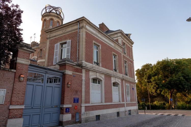 Jules Verne at his museum