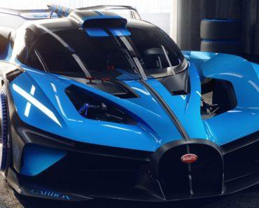 A Closer Look at the 1,825 HP Bugatti Bolide