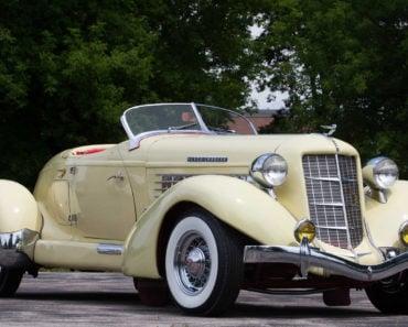 A Closer Look at the 1935 Auburn 851 Speedster