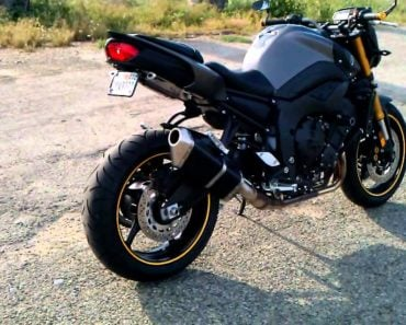 Remembering The 2011 Yamaha FZ8