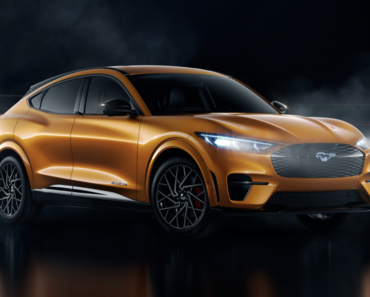 A Closer Look at The 2021 Ford Mustang Mach-E GT