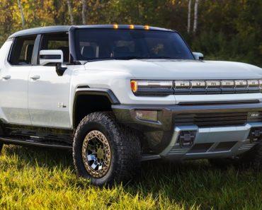 A Closer Look at The 2022 GMC Hummer EV