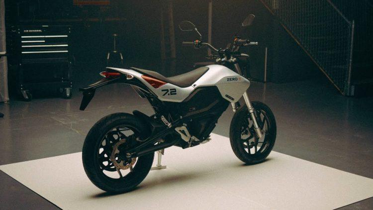 2022 Zero FXE Electric Motorcycle