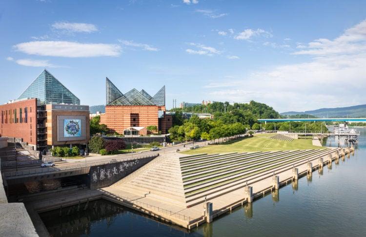 Tennessee Riverwalk, Chattanooga, Tennessee