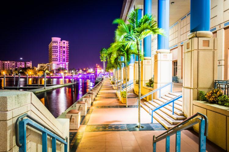 Tampa Riverwalk, Tampa, Florida