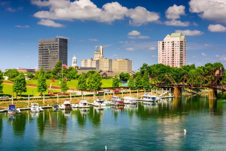 Riverwalk Augusta, Augusta, Georgia