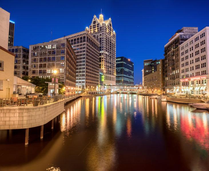 Milwaukee Riverwalk, Milwaukee, Wisconsin