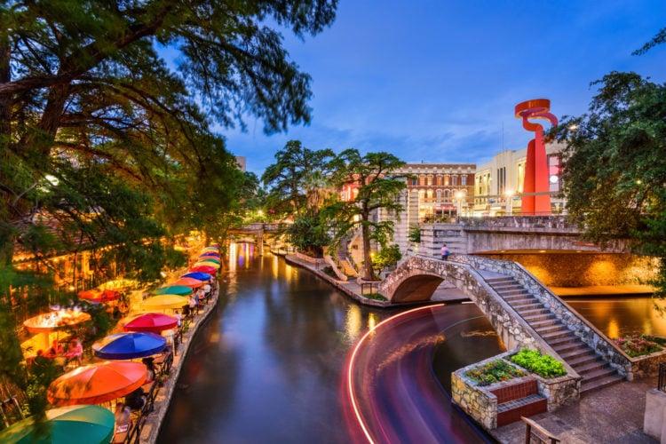 San Antonio River Walk, San Antonio, Texas