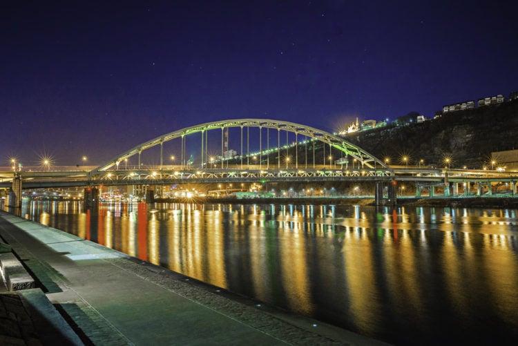 Three Rivers Heritage Trail, Pittsburgh, Pennsylvania